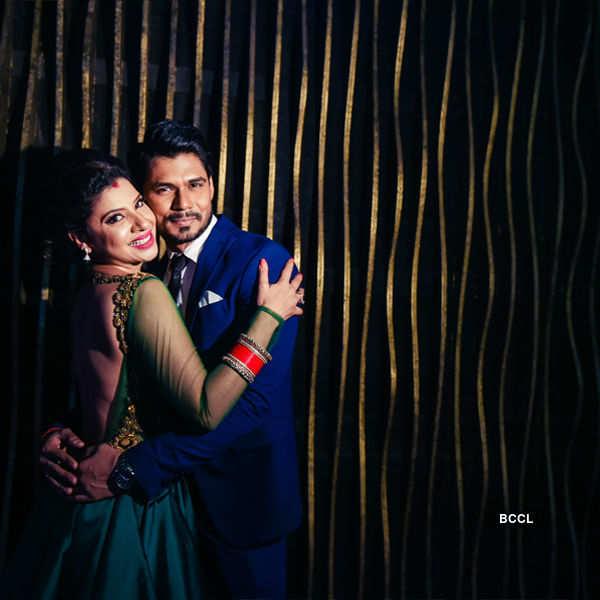Sambhavna and Avinash throw party post wedding