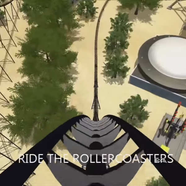 Rollercoaster dreams for Playstation VR