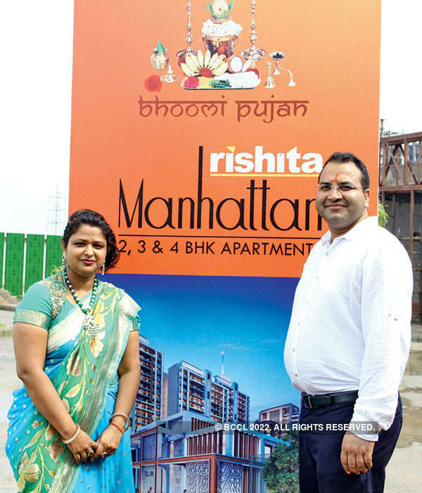 Rishita Developers: Bhumi poojan