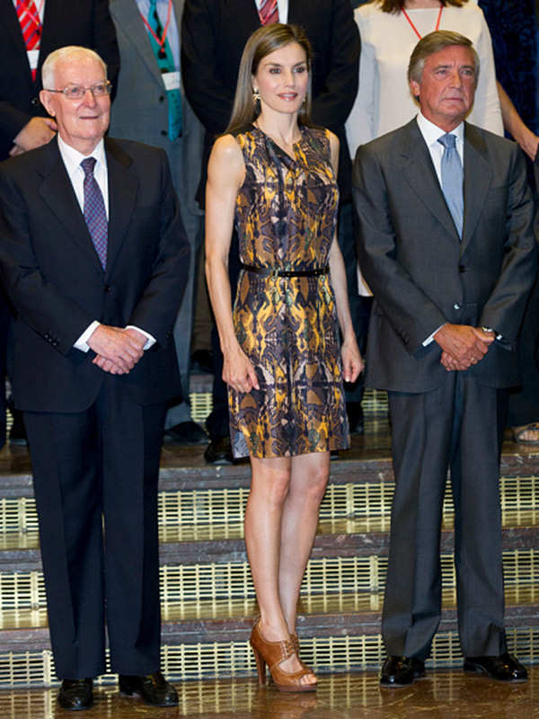 Queen Letizia @ Cervantes Institute