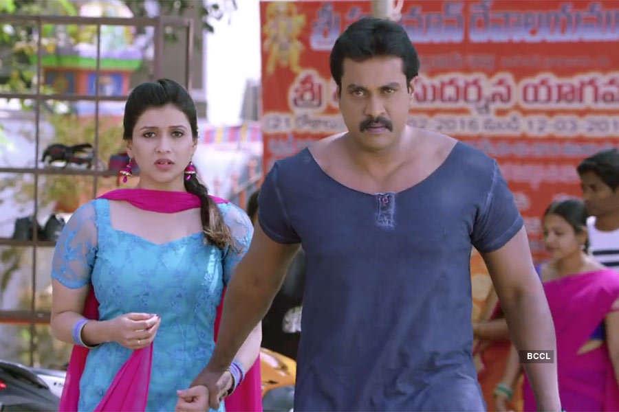 Mannara Chopra and Sunil in Jakkana