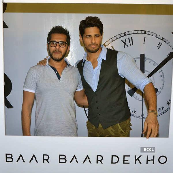 Baar Baar Dekho: Trailer launch