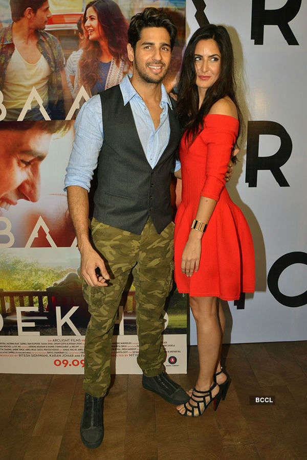 Baar Baar Dekho: Trailer launch