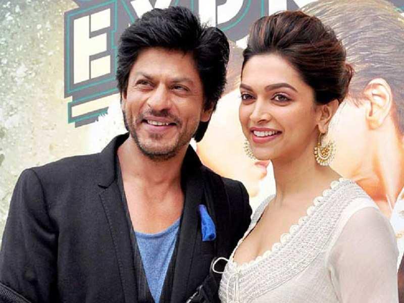 Shah Rukh Khan and Deepika Padukone , Priyanka Chopra