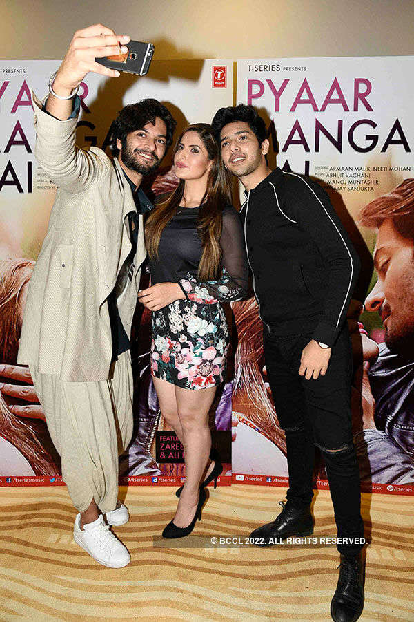 Pyaar Manga Hai: Song Launch