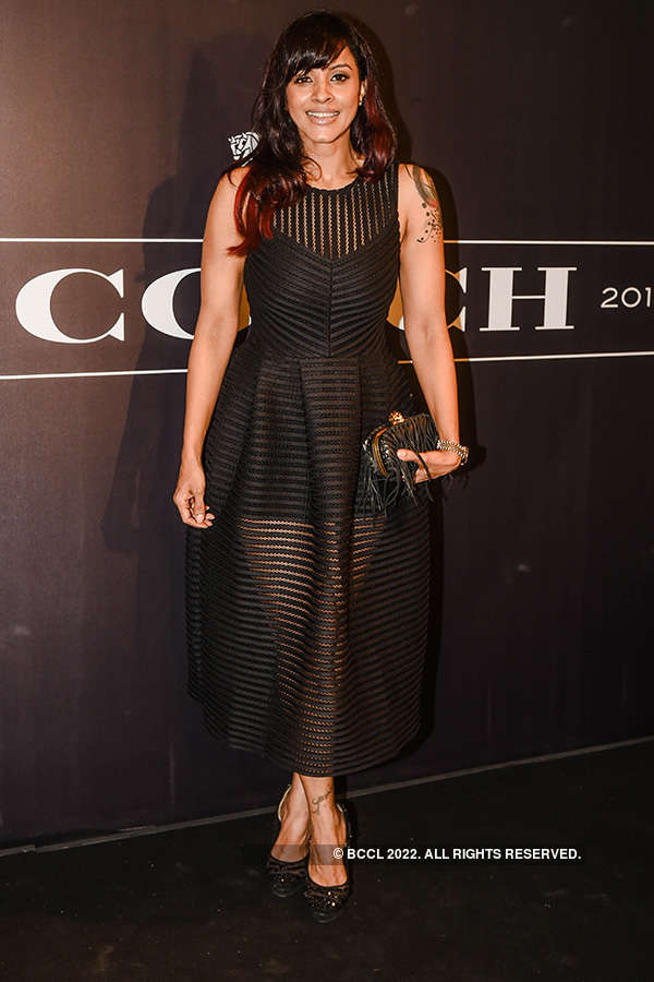 Coach store launch party