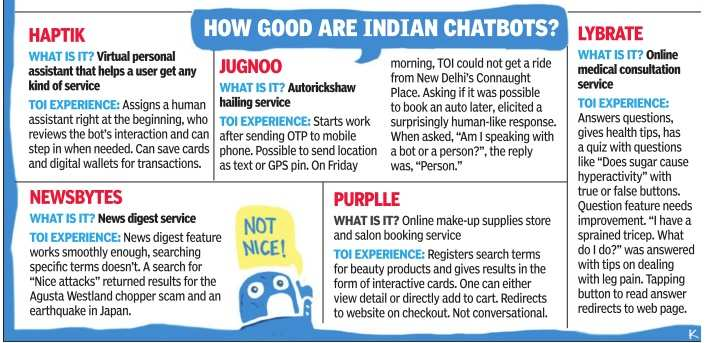How chatbots can change the way you use your smartphone - Times of India