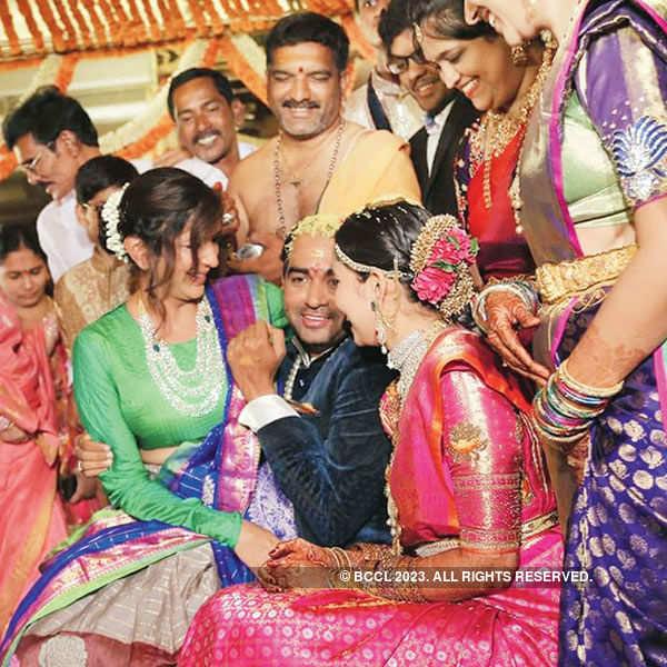 Krish & Ramya's wedding reception