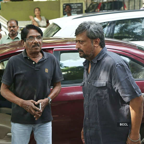 Celebs pay their last respect to Panchu Arunachalam