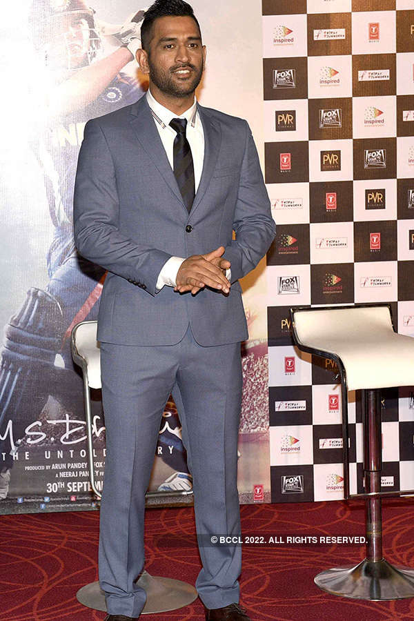 M.S. Dhoni: Trailer launch