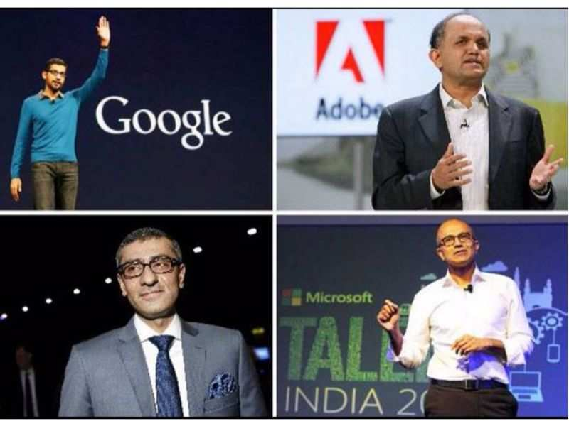 Meet 9 Indian-origin CEOs 'ruling' the technology industry