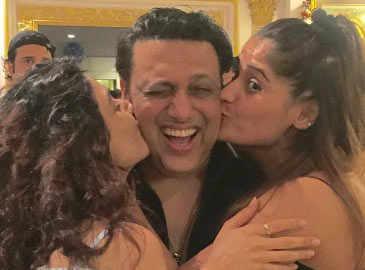 Ragini Khanna, Arti Singh party with Govinda