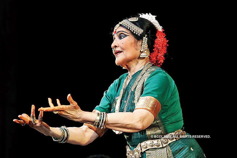 Vyjayanthimala performs in the city