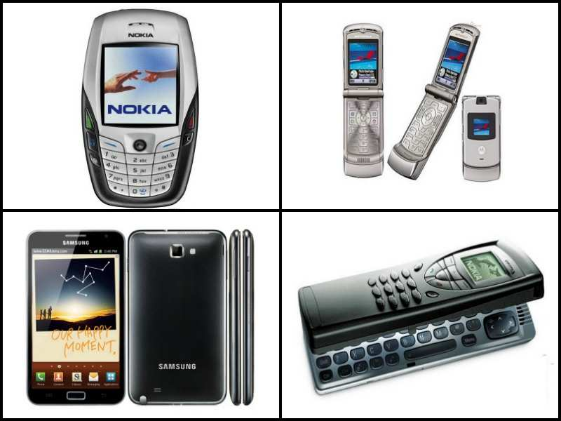 15 most iconic mobile phones of the past