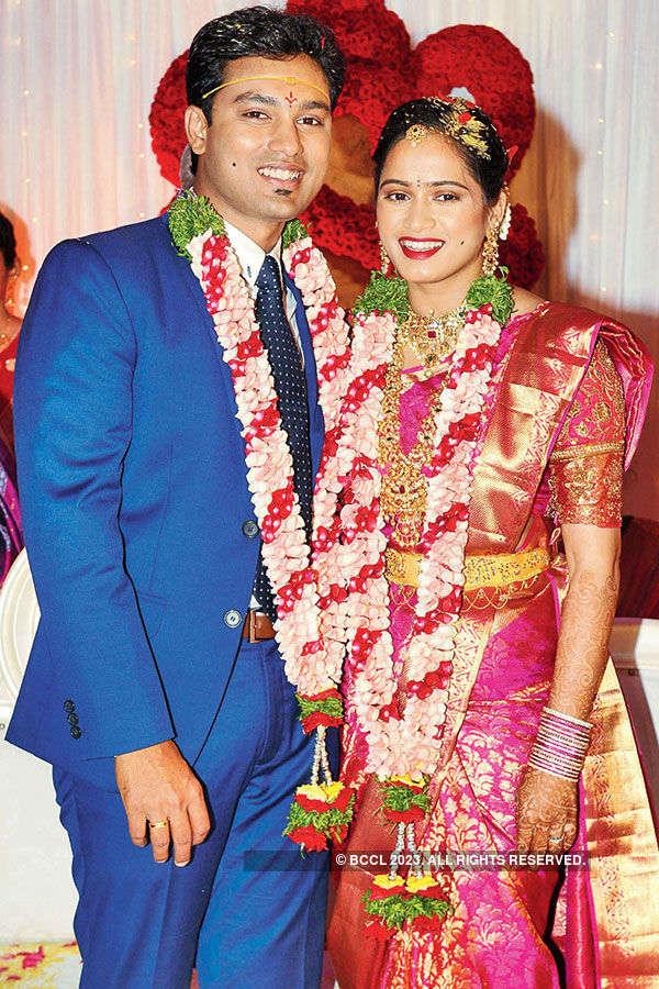 Jahnavi & Pavan's wedding ceremony