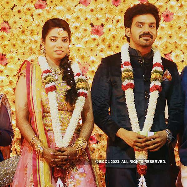 Vasan Karthik, Priya's wedding ceremony