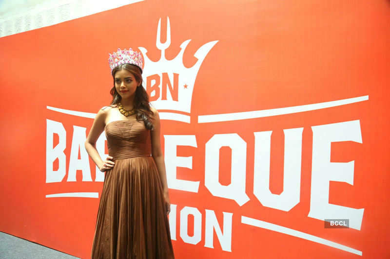 Priyadarshini Chatterjee at the launch of Barbeque Nation