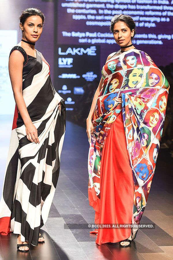 LFW '16: Day 3: Cloths & India