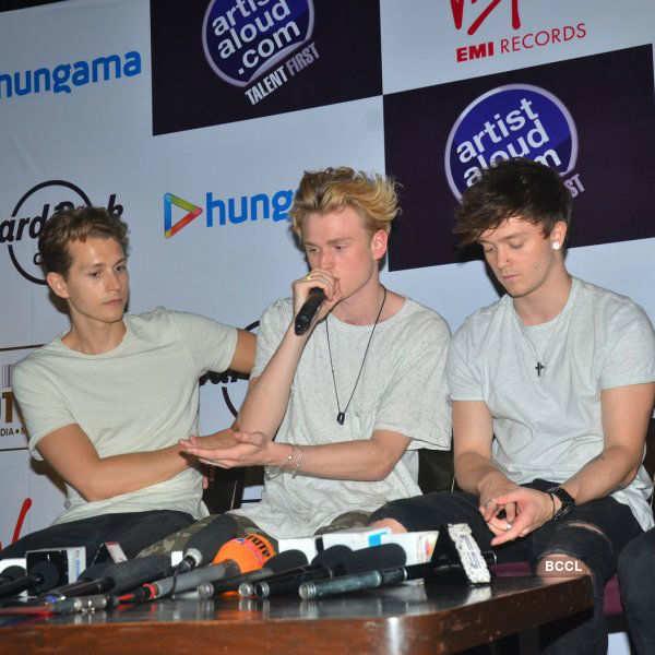 The Vamps in Mumbai with Vishal and Shekhar