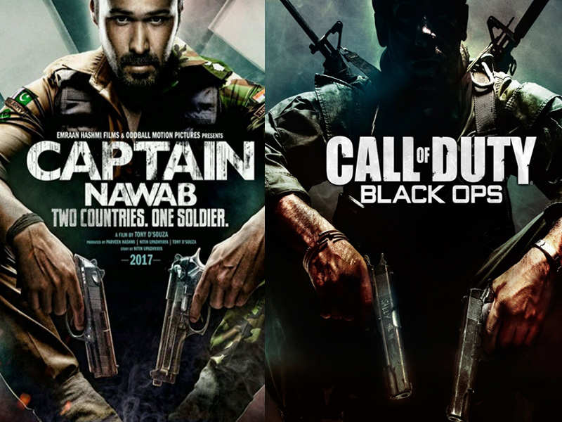 Emraan Hashmi's 'Captain Nawab' poster copied from 'Call of Duty'?