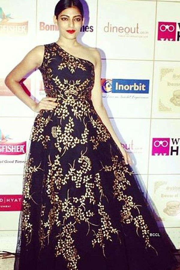 Naveli Deshmukh's love for dresses