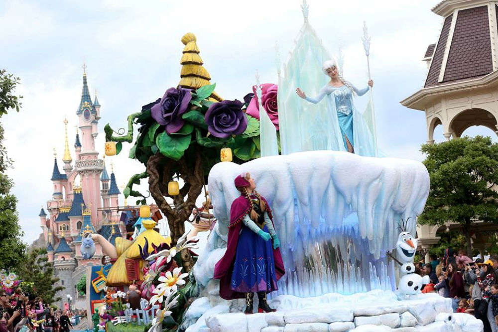 Visit Disneyland Paris and relish the many magical parades
