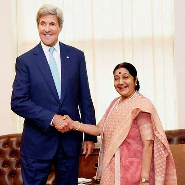 John Kerry's India visit