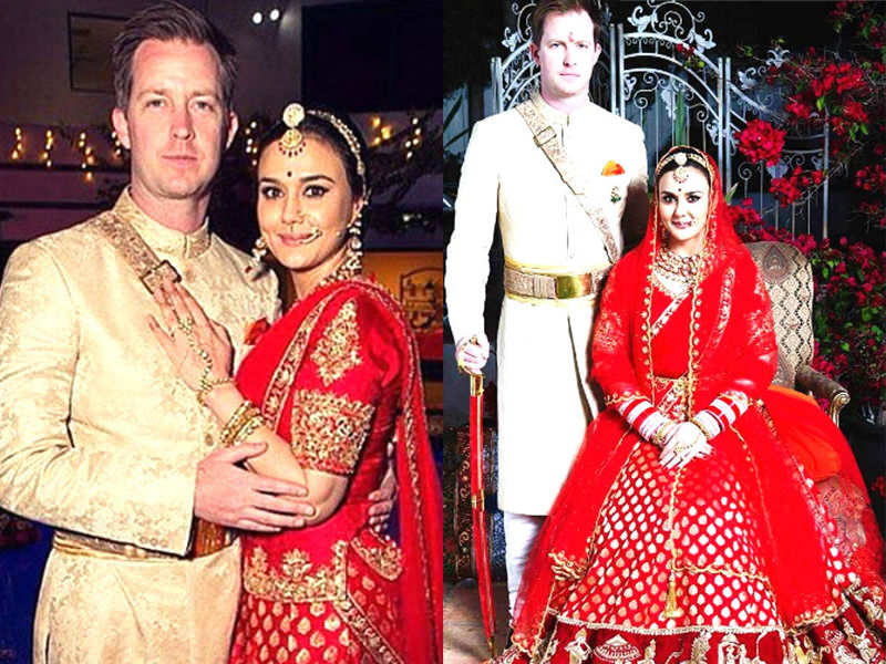 Know Your Indian Roots Best Indian Wedding Songs Of: Preity Zinta's Wedding Pictures Leaked
