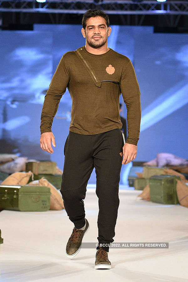 Celebs walk the ramp for YWC