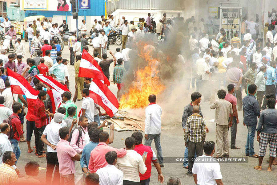 Shutdown against Cauvery water release