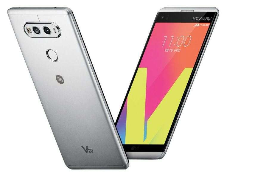 LG: LG V20, the world's first smartphone with Android 7.0 ...