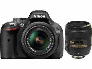 Nikon D5200 Af S 18 55 Mm F 3 5 5 6 Vr Ii Kit And Af S 50 Mm F 1 8g Lens Digital Slr Camera Price Full Specifications Features 7th May 2021 At Gadgets Now