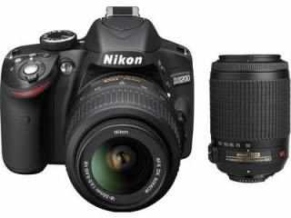 Compare Nikon D3200 Af S 18 55 Mm F 3 5 5 6 Vr Ii Kit And Af S 55 200 Mm F 4 5 6g Ed Vr Ii Lens Digital Slr Camera Vs Nikon D5200 Af S 18 55 Mm