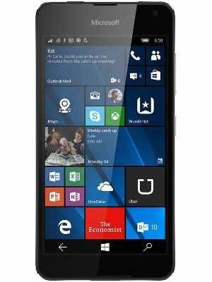 Compare Microsoft Lumia 650 Dual SIM vs Tata Docomo Sony Ericsson