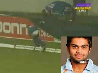 Virat Kohli's pants down