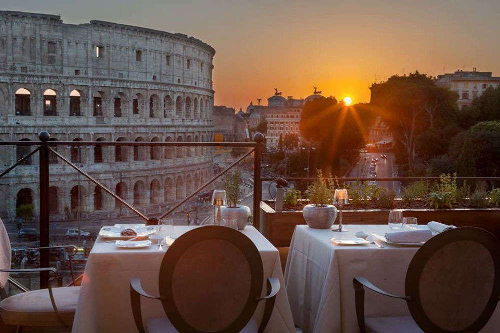 Strange Aroma Restaurant Rome Get Aroma Restaurant Restaurant Download Free Architecture Designs Ogrambritishbridgeorg