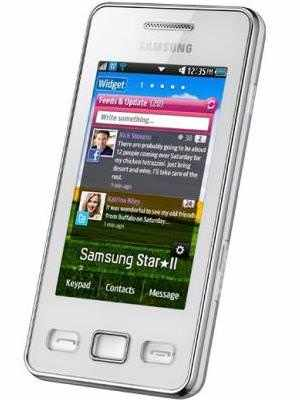 samsung star ii s5260 price full specifications features at rh gadgetsnow com Samsung Refrigerator Manual Samsung M340