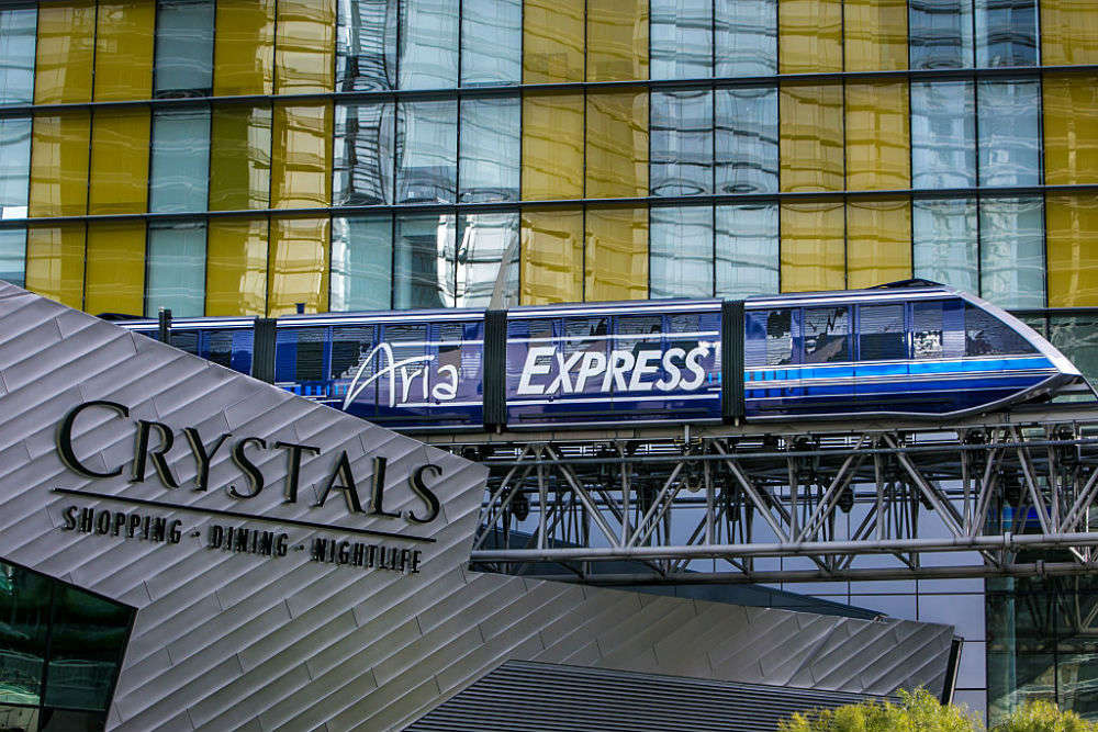 The Shops at Crystals, Las Vegas - Times of India Travel