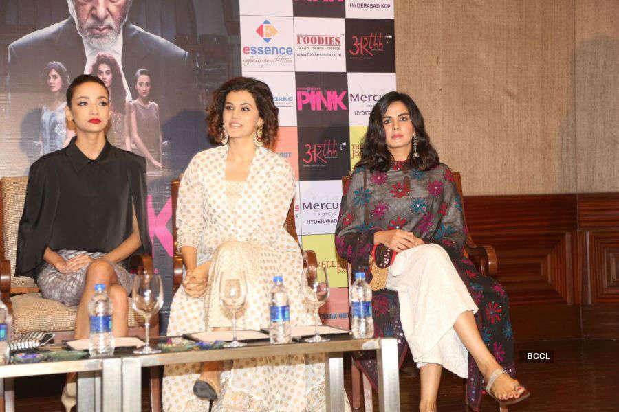 Pink: Press meet