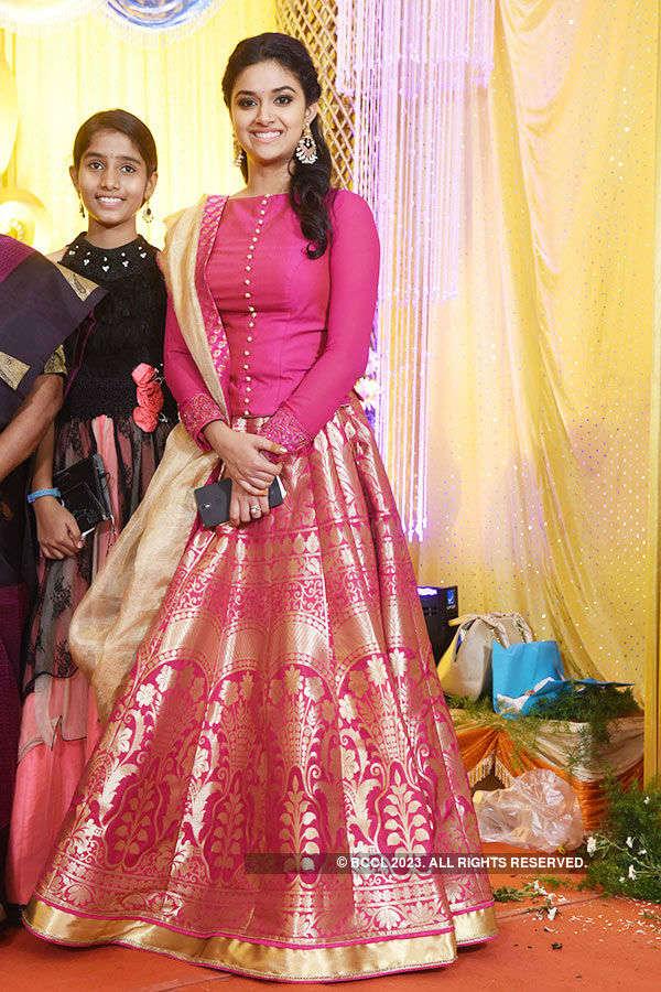 Revathy Suresh's wedding reception