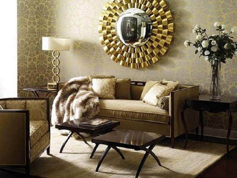 Gold Is The New Black Guide To Latest Home Decor Trends Times Of India