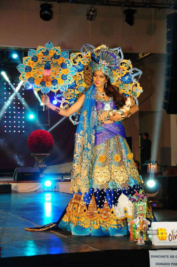 When India's Lopamudra Raut won Best National Costume at Miss United Continents 2016