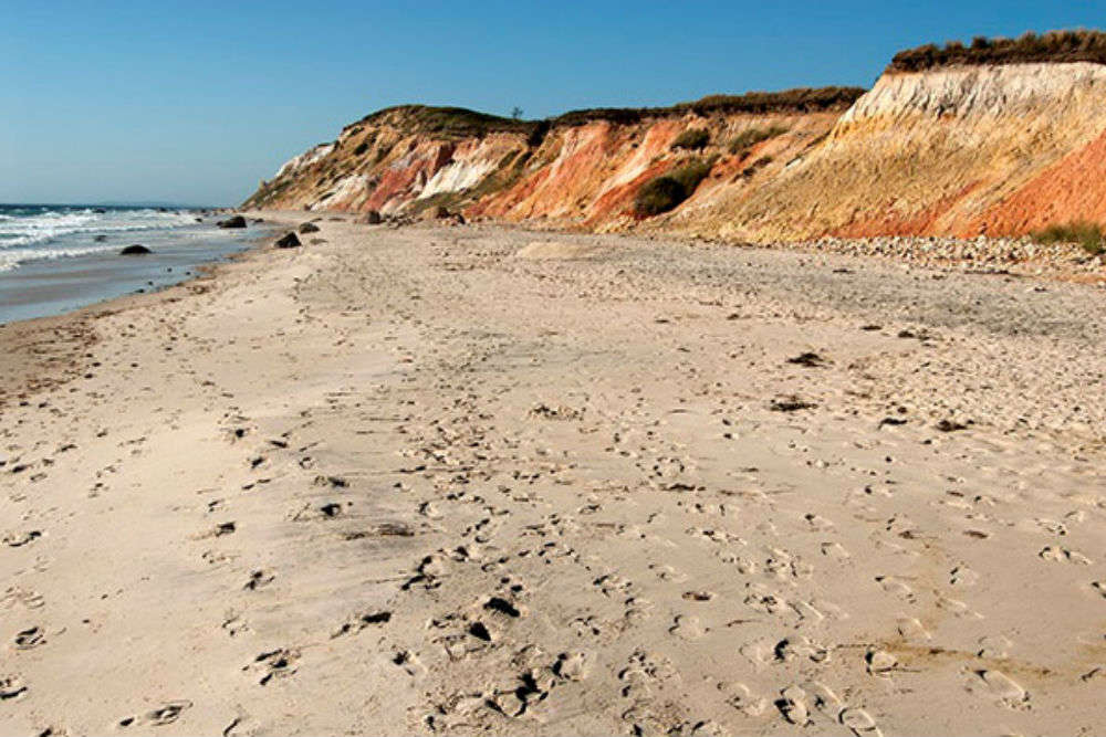Moshup Beach, Aquinnah, Marthas Vineyard | Marthas