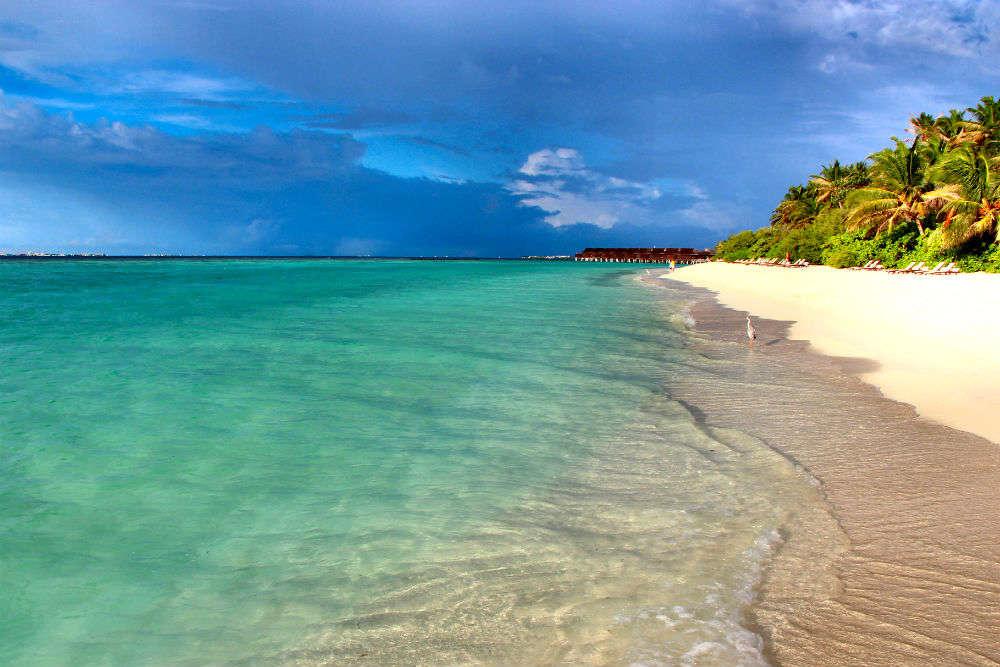 Surreal beaches