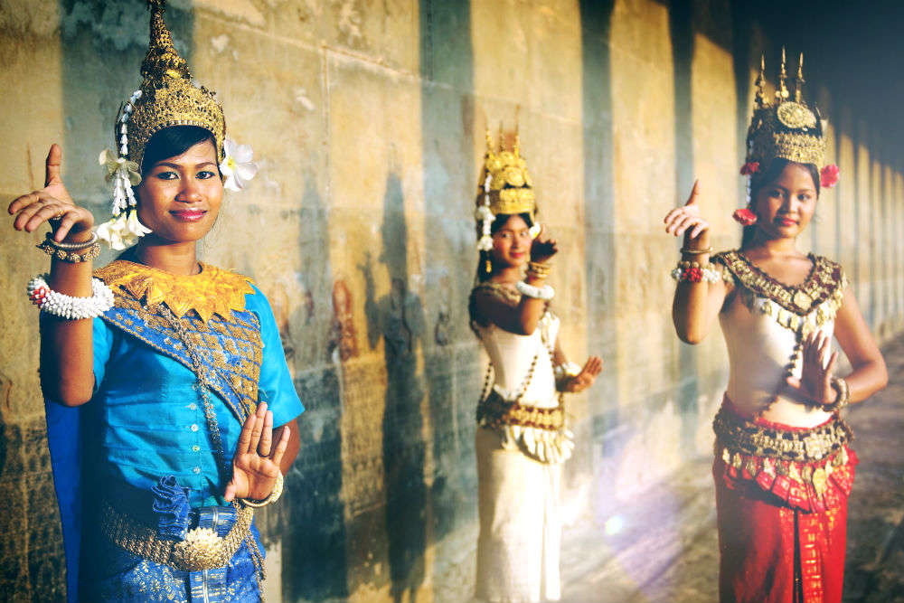 Get bedazzled at Apsara Dance show