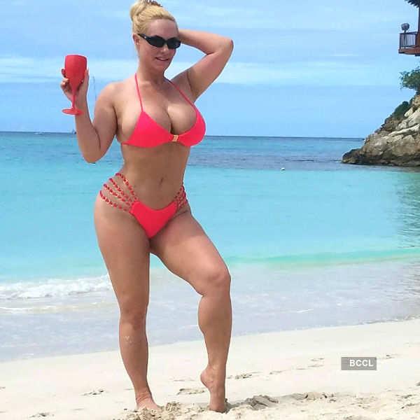 Coco Austin's bikini pics