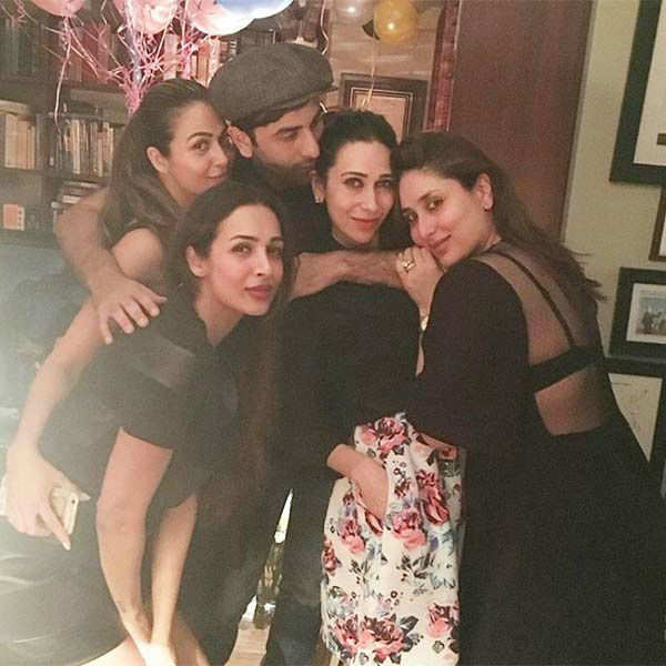 Kareena celebrated her birthday with her family