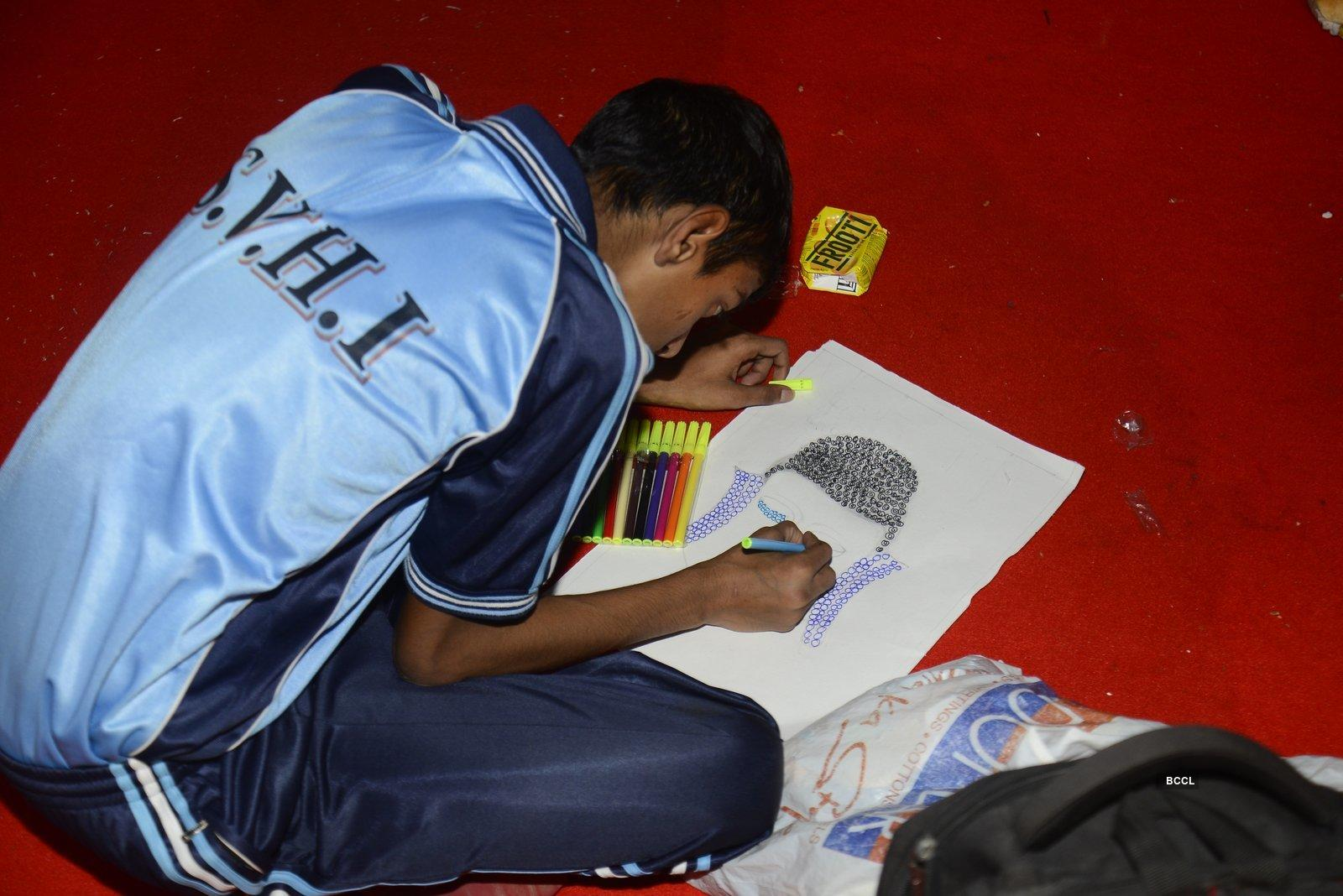 World Deaf Day art camp