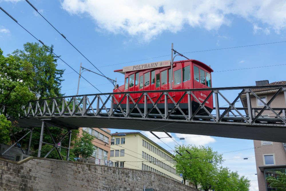 Polybahn funicular