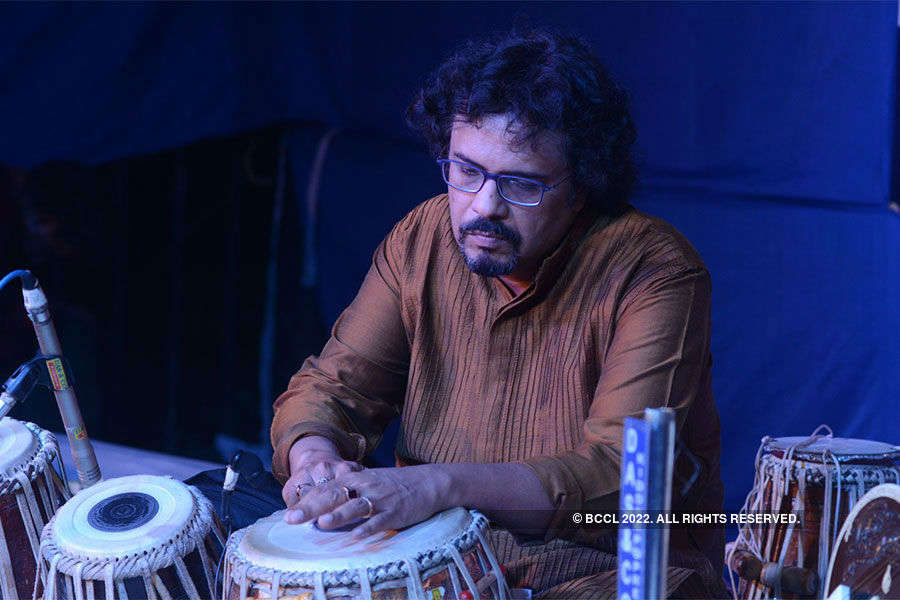 Bickram Ghosh performs @ CRC